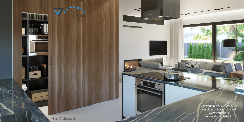 Immagine Villa V45 (progetto originale) - il design della cucina