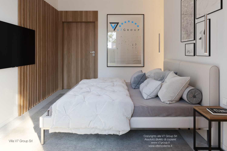 Immagine Villa V45 (progetto originale) - interno 8 - camera matrimoniale