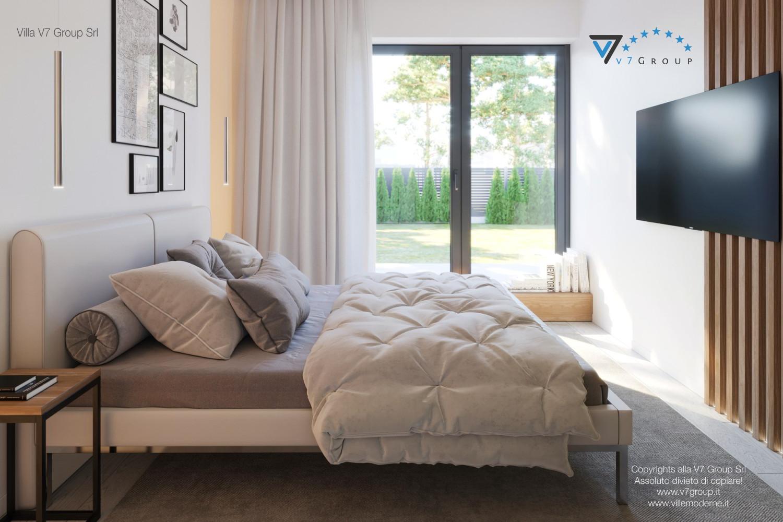 Immagine Villa V45 (progetto originale) - interno 9 - camera matrimoniale