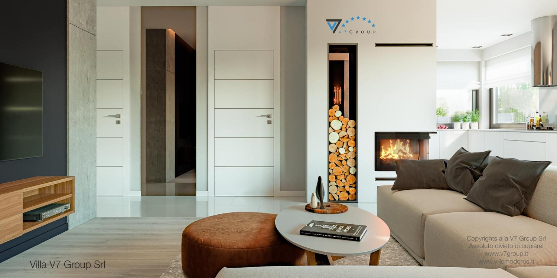 Immagine Villa V46 (progetto originale) - interno 6 - corridoio