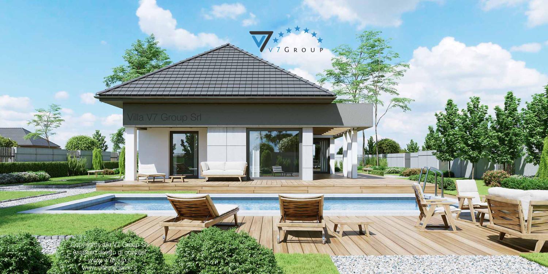 Villa v46 progetto originale il progetto e la realizzazione della villa - Progetto villa con piscina ...