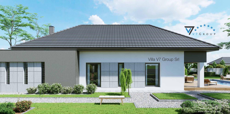 Immagine Villa V46 (progetto originale) - vista laterale grande