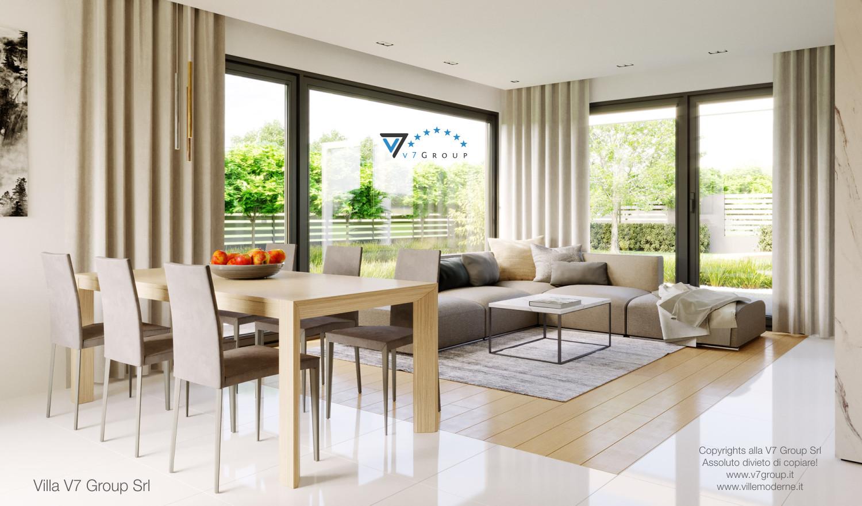 Immagine Villa V47 (B) - il tavolo grande e le sedie