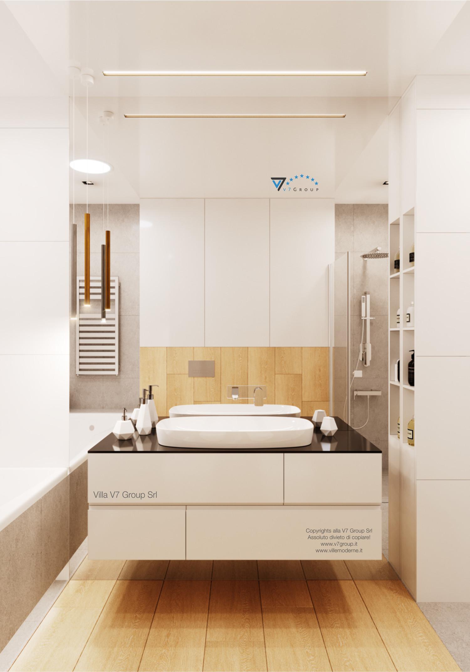 Immagine Villa V47 (B) - il lavandino e lo specchio