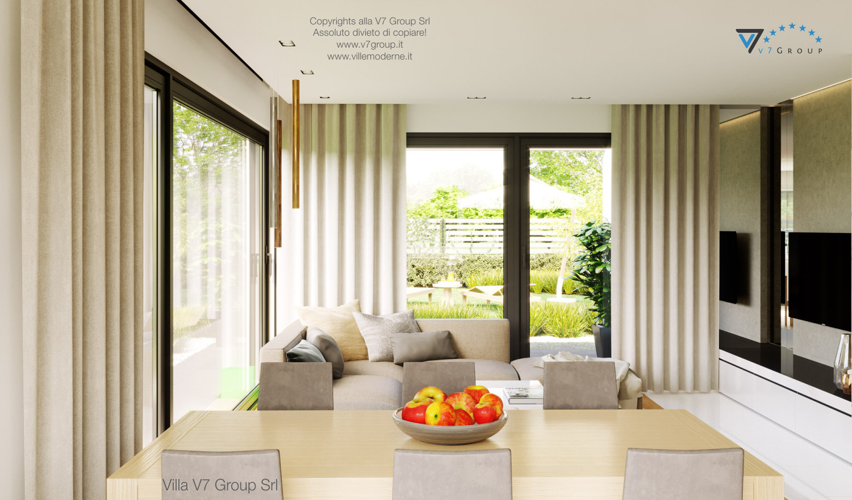 Immagine Villa V47 (B) - la vista soggiorno e la sala da pranzo