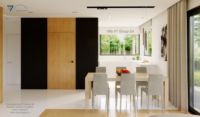 Immagine Villa V47 (B) - interno 3 - sala da pranzo e cucina