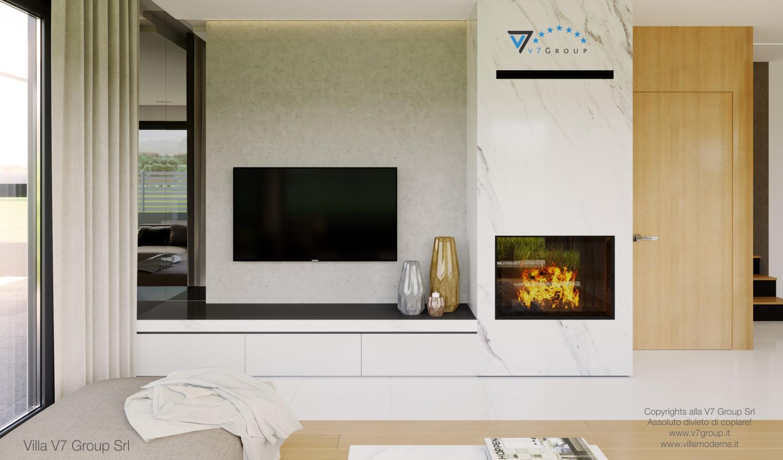Immagine Villa V47 (B) - la grande tv nel soggiorno