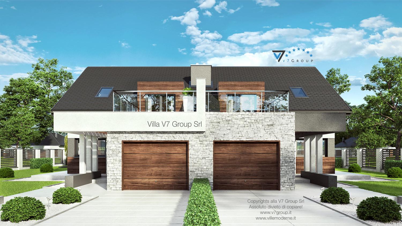 Immagine Villa V47 (B) - l'entrata e il garage