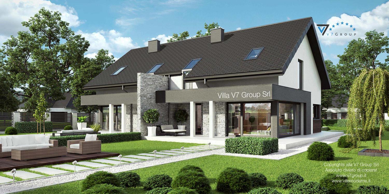 Immagine Villa V47 (B) - vista giardino grande