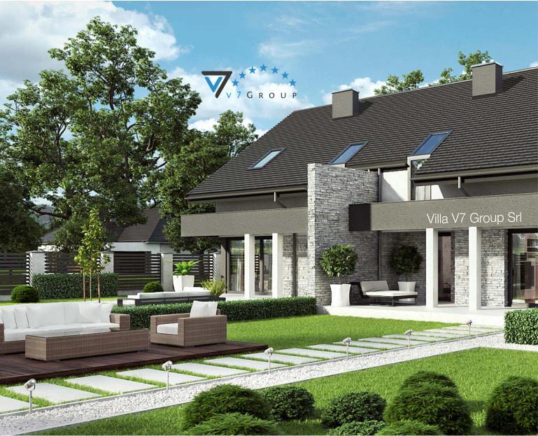 Immagine Villa V47 (B) - presentazione del giardino di casa
