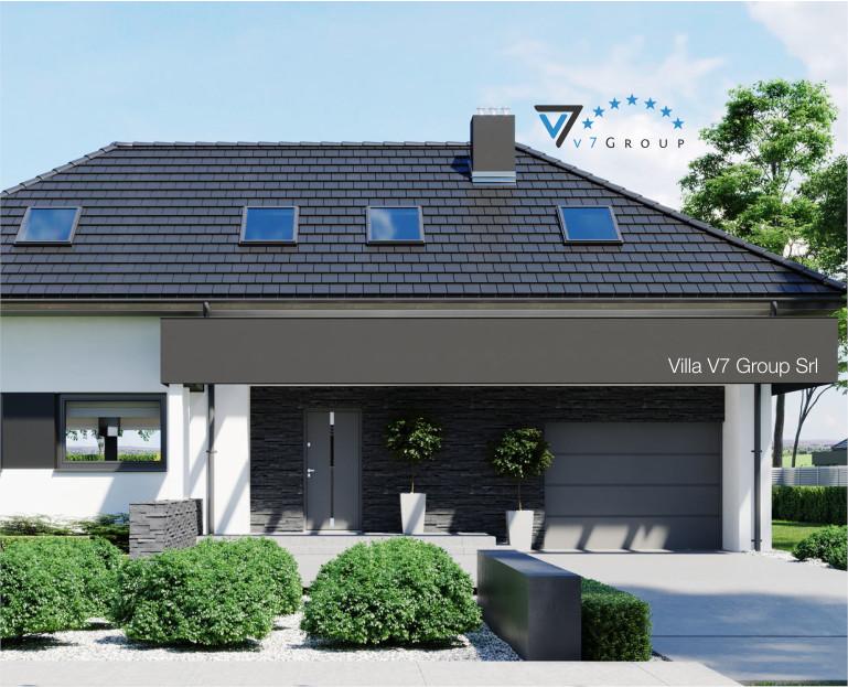 Immagine Villa V48 - presentazione della parte frontale della Villa V48