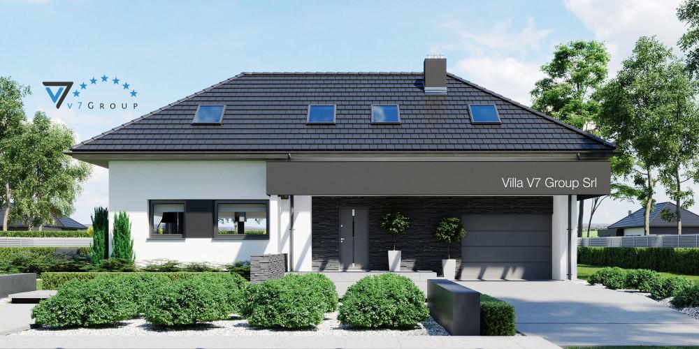 Immagine Villa V49 - presentazione frontale della Villa V48