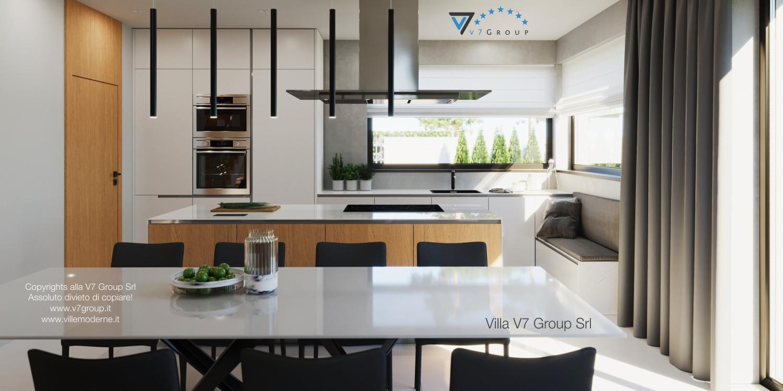 Immagine Villa V49 (progetto originale) - il tavolo al centro