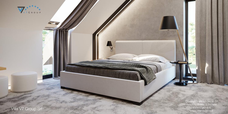 Immagine Villa V49 (progetto originale) - il letto matrimoniale