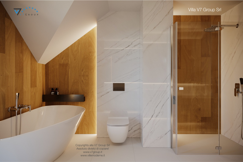 Immagine Villa V49 (progetto originale) - i sanitari e la vasca