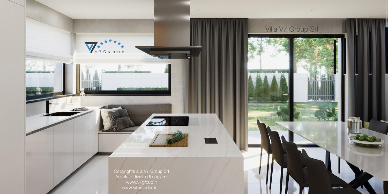 Immagine Villa V49 (progetto originale) - il design della cucina