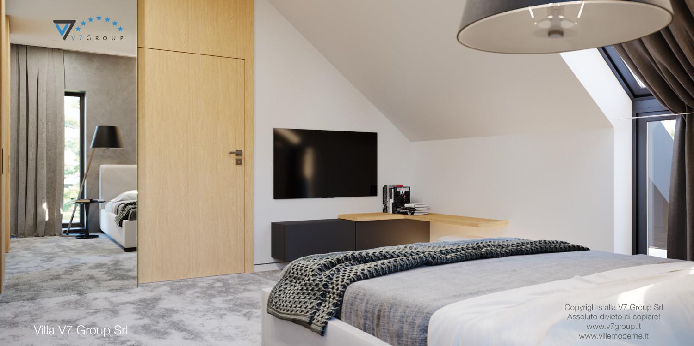 Immagine Villa V49 (progetto originale) - il design delle camere