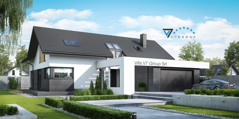 Immagine Villa V50 (progetto originale) - presentazione della Villa V49