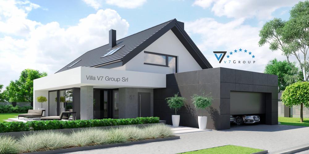Immagine Villa V50 (progetto originale) - presentazione della Villa V51