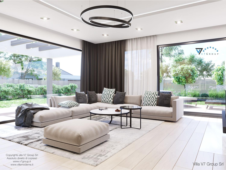 Immagine Villa V50 (progetto originale) - interno 1 - soggiorno