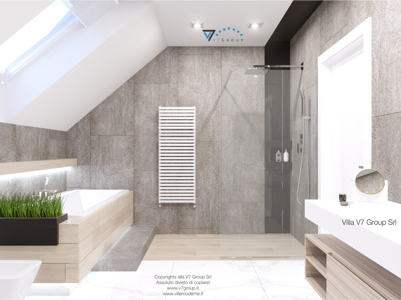 Immagine Villa V50 (progetto originale) - interno 10 - bagno