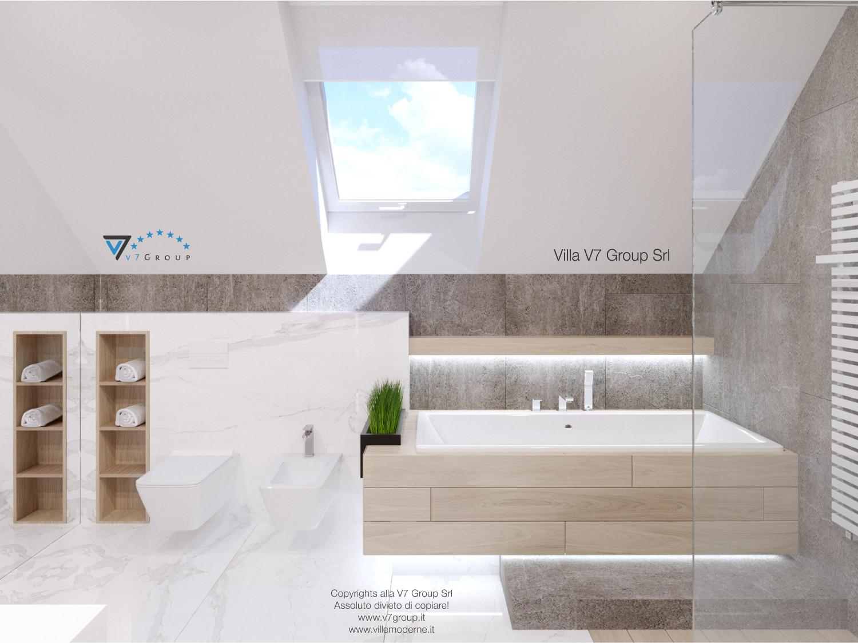 Immagine Villa V50 (progetto originale) - interno 11 - bagno