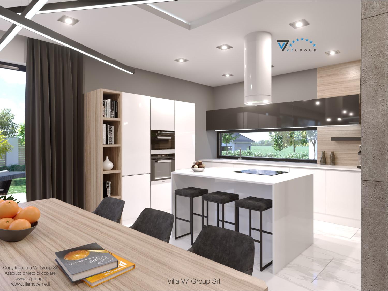 Immagine Villa V50 (progetto originale) - interno 4 - cucina