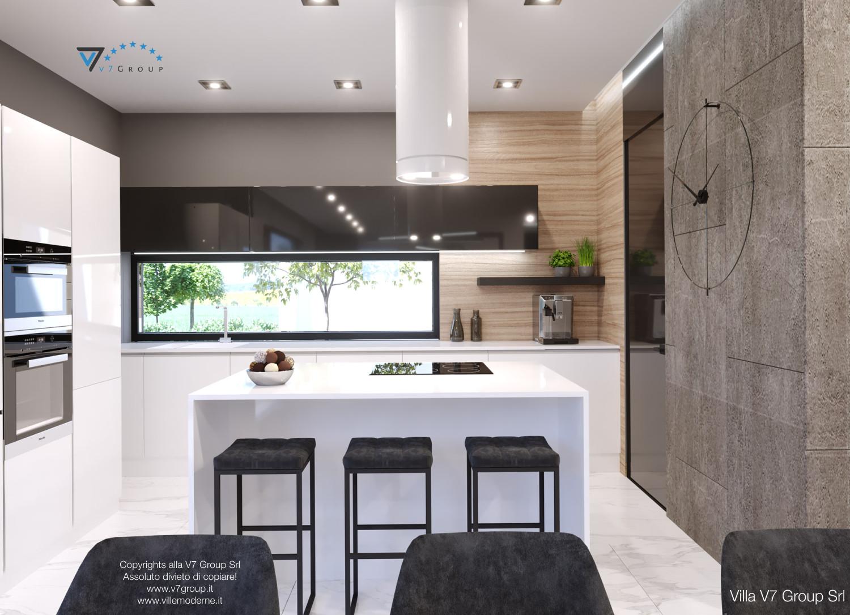 Immagine Villa V50 (progetto originale) - interno 5 - cucina