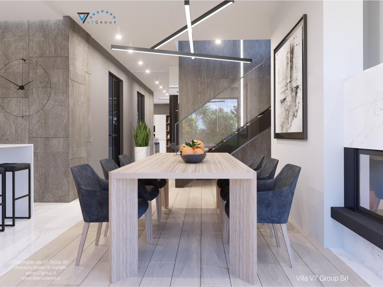 Immagine Villa V50 (progetto originale) - interno 6 - sala da pranzo
