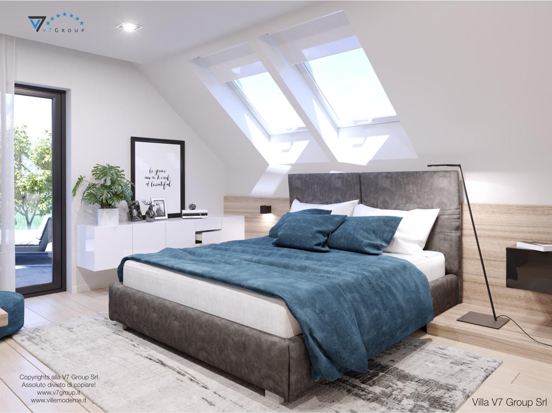 Immagine Villa V50 (progetto originale) - interno 7 - camera matrimoniale