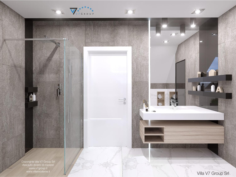 Immagine Villa V50 (progetto originale) - interno 9 - bagno