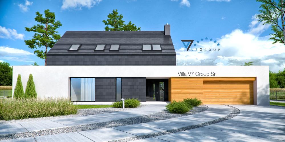 Immagine Villa V51 (progetto originale) - la presentazione della Villa V50