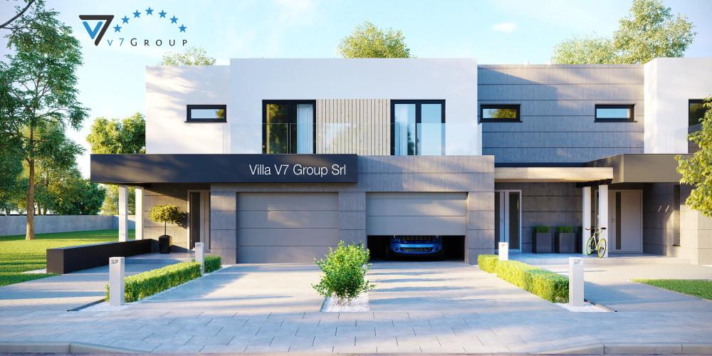 Immagine Villa V51 (progetto originale) - la presentazione della Villa V52 (B2)