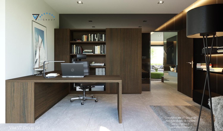 Immagine Villa V51 (progetto originale) - la scrivania