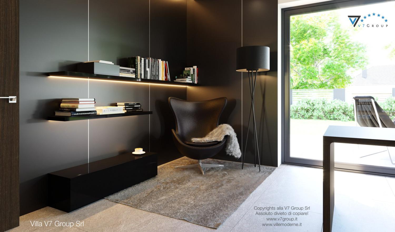 Immagine Villa V51 (progetto originale) - la sedia nera