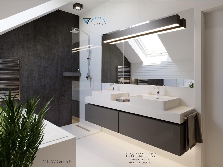 Immagine Villa V51 (progetto originale) - i lavandini nel bagno
