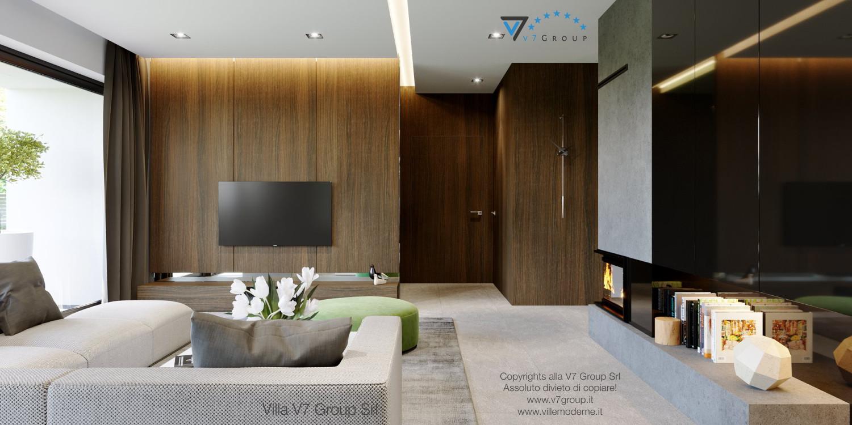 Immagine Villa V51 (progetto originale) - il corridoio interno