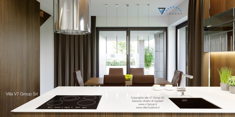 Immagine Villa V51 (progetto originale) - interno 7 - sala da pranzo