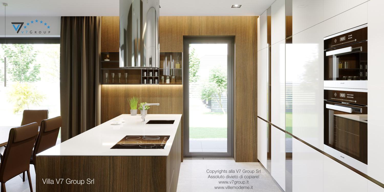 Immagine Villa V51 (progetto originale) - il design della cucina