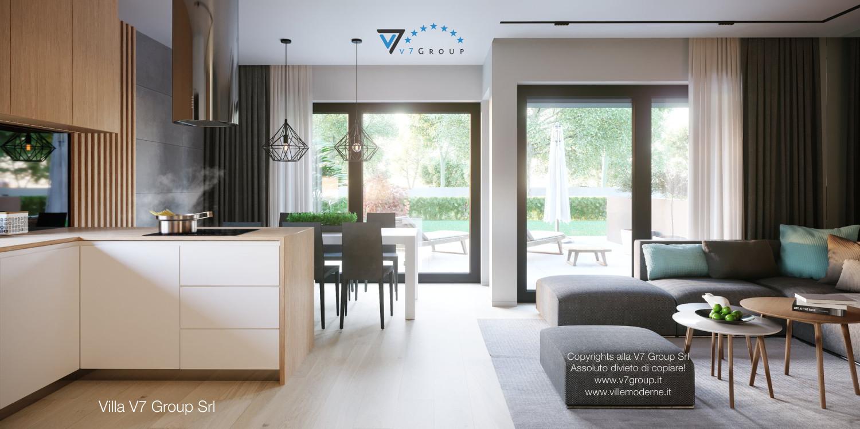 Immagine Villa V52 (B2) - interno 4 - cucina e sala da pranzo