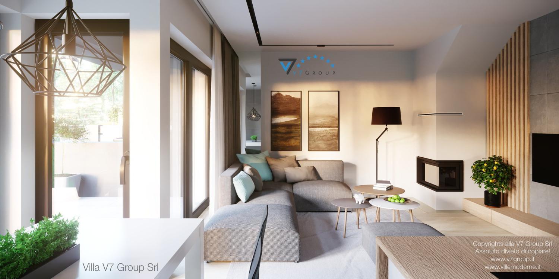 Immagine Villa V52 (B2) - interno 6 - soggiorno