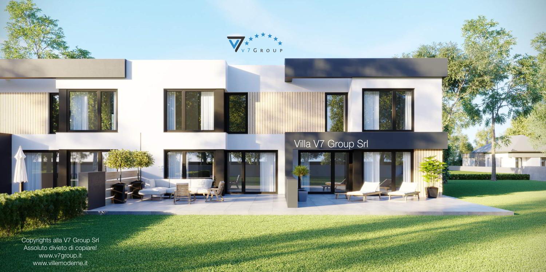 Immagine Villa V52 (B2) - vista giardino grande