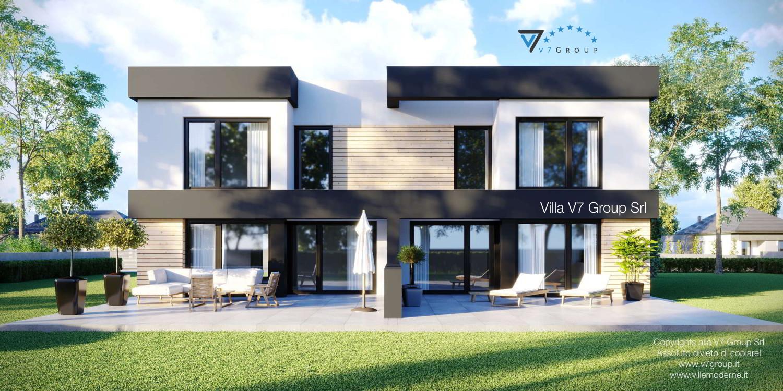 Immagine Villa V52 (D) - vista giardino grande