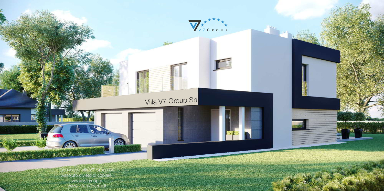 Immagine Villa V52 (D) - vista laterale grande