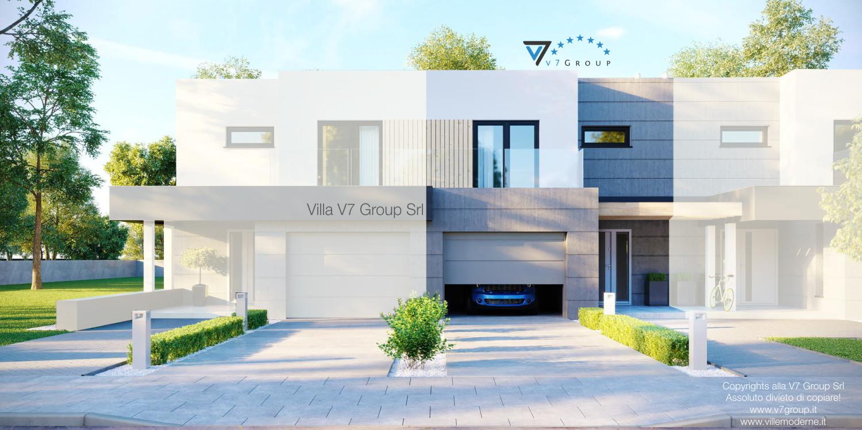 Immagine Villa V52 (S) - vista frontale grande