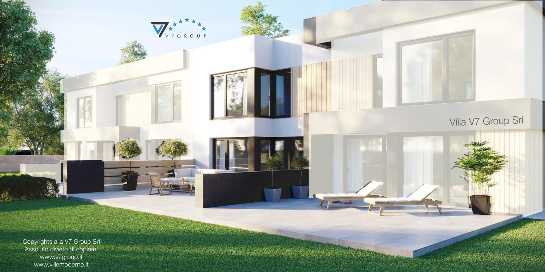 Immagine Villa V52 (S) - vista terrazzo esterno grande