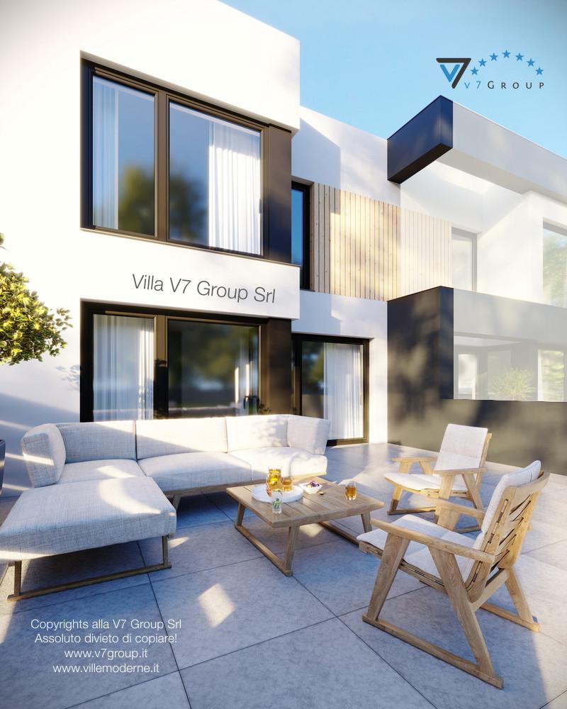 Immagine Villa V52 (S) - vista terrazzo esterno in dettaglio grande