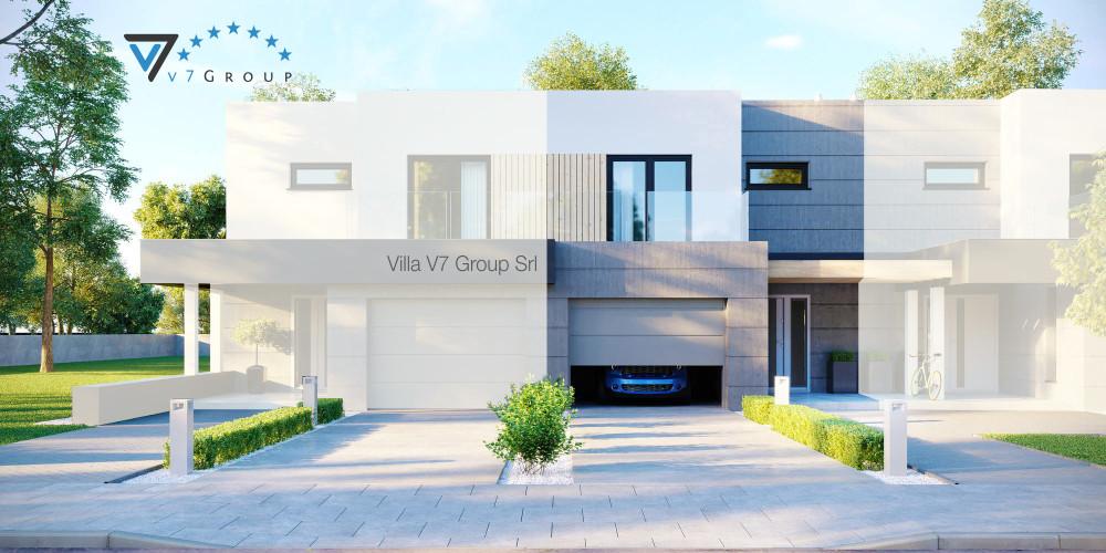 Immagine Villa V53 (progetto originale) - la presentazione della Villa V52 (S)