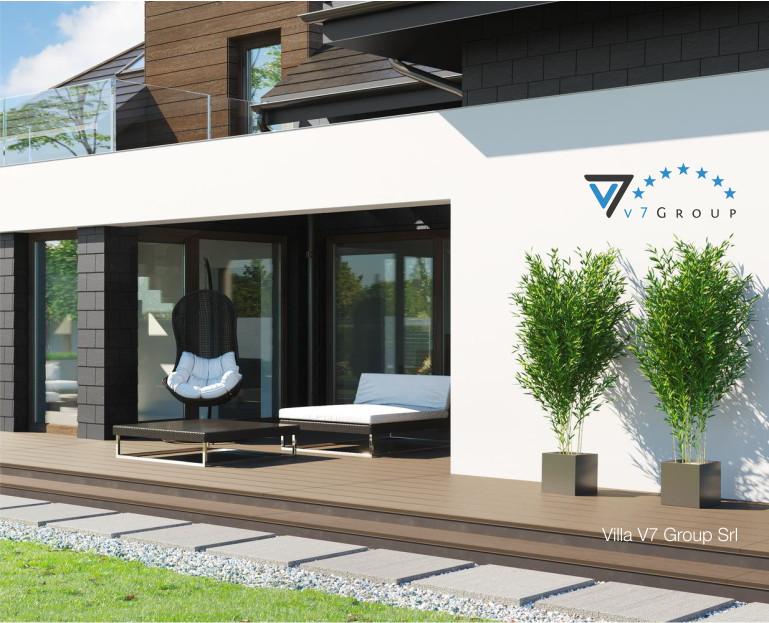 Immagine Villa V53 - vista terrazzo esterno piccolo