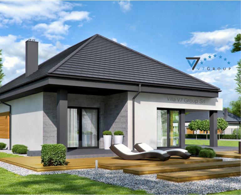 Immagine Villa V54 (progetto originale) - vista terrazzo esterno piccola